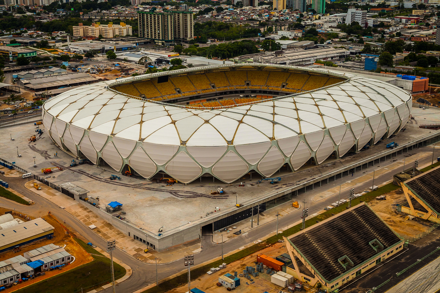 Arena Amazonia, Manaus (Photo courtesy Brazilian Federal Government)