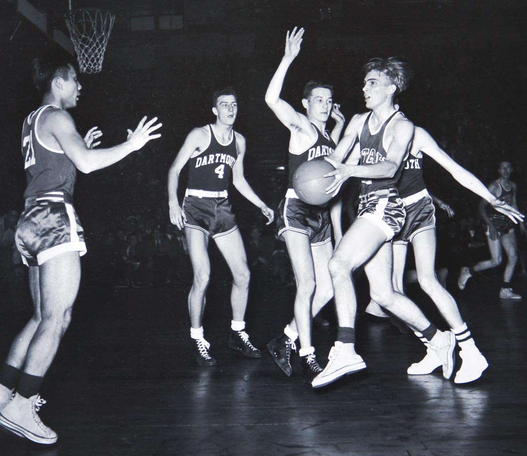"The most well known of Utah's ""Blitz Kids,"" Ferrin was just a freshman when he scored 22 points in the 1944 NCAA final to lead the Utes to a victory over Dartmouth. Utah played in both the NIT and NCAA tournament that season, and it would be another 42 years before another freshman (Louisville's Pervis Ellison) was named the Final Four's Most Outstanding Player. Ferrin became Utah's only four-time All-America and he helped the school win the NIT in 1947."