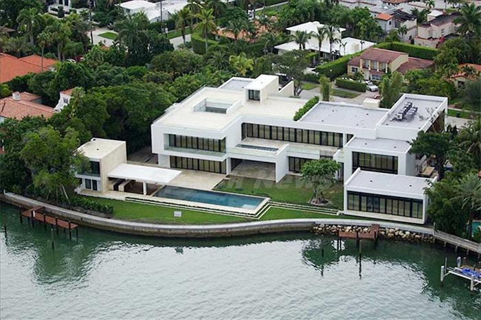 A-Rod purchased this home in Miami.