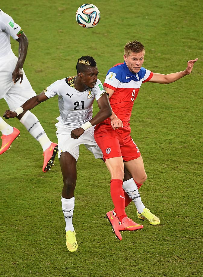 Aron Johannson, born in Mobile, Ala., moved to Reykjavik, Iceland, when he was 3.  He has been a member of the USMNT since 2013, and has scored two goals in nine appearances.
