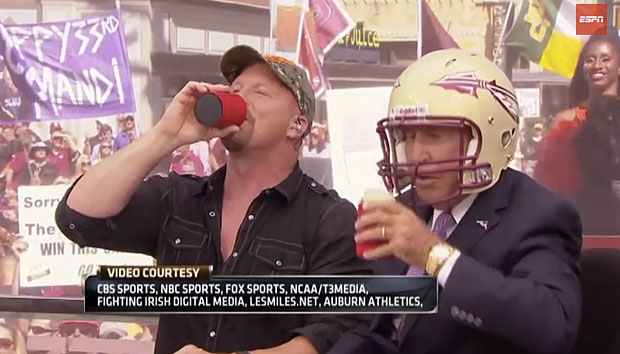 Steve Austin and Lee Corso :: YouTube