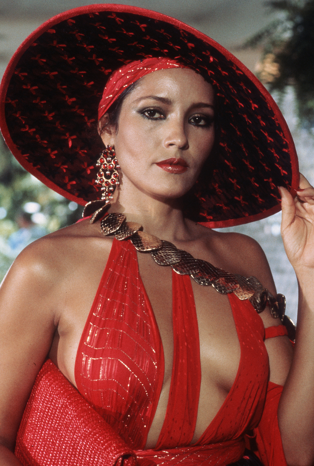 As Bond Girl Fatima in 'Never Say Never Again,' 1983