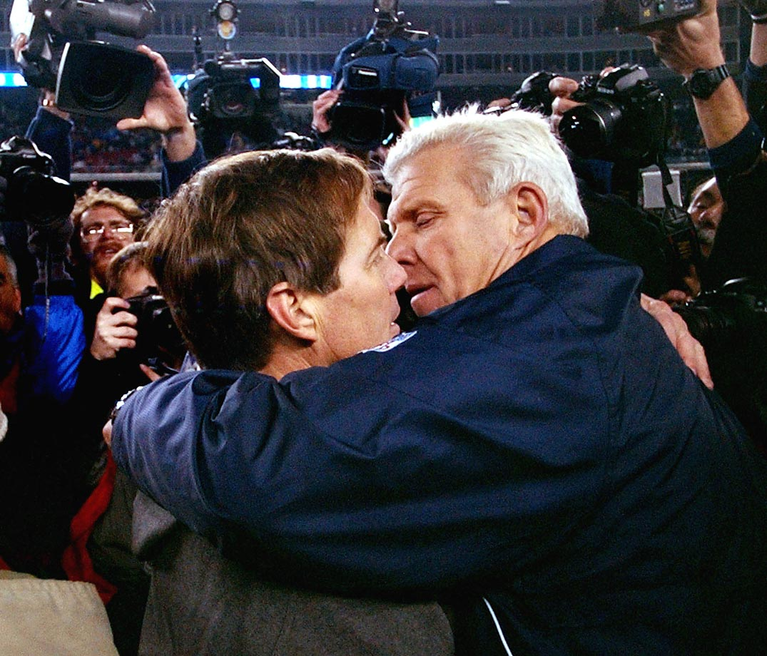 bill parcells and belichick relationship questions