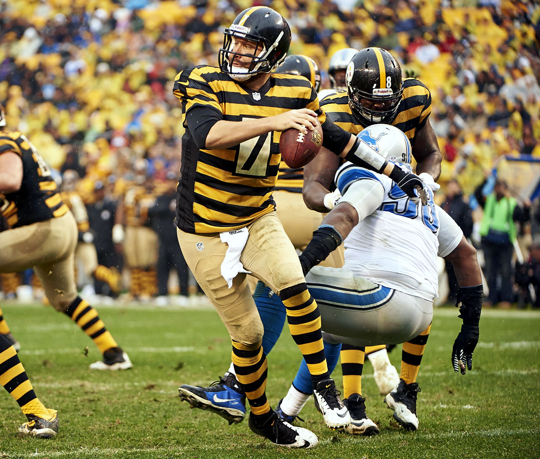 "Used in a sentence: Roethlisberger inspired the ""Roethlisburger"" sandwich at a Pittsburgh restaurant."