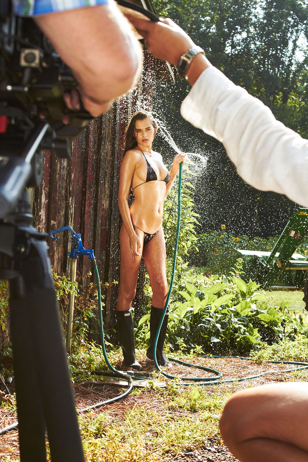 BTS with Solveig at Blackberry Farm, SI Swimsuit 2015