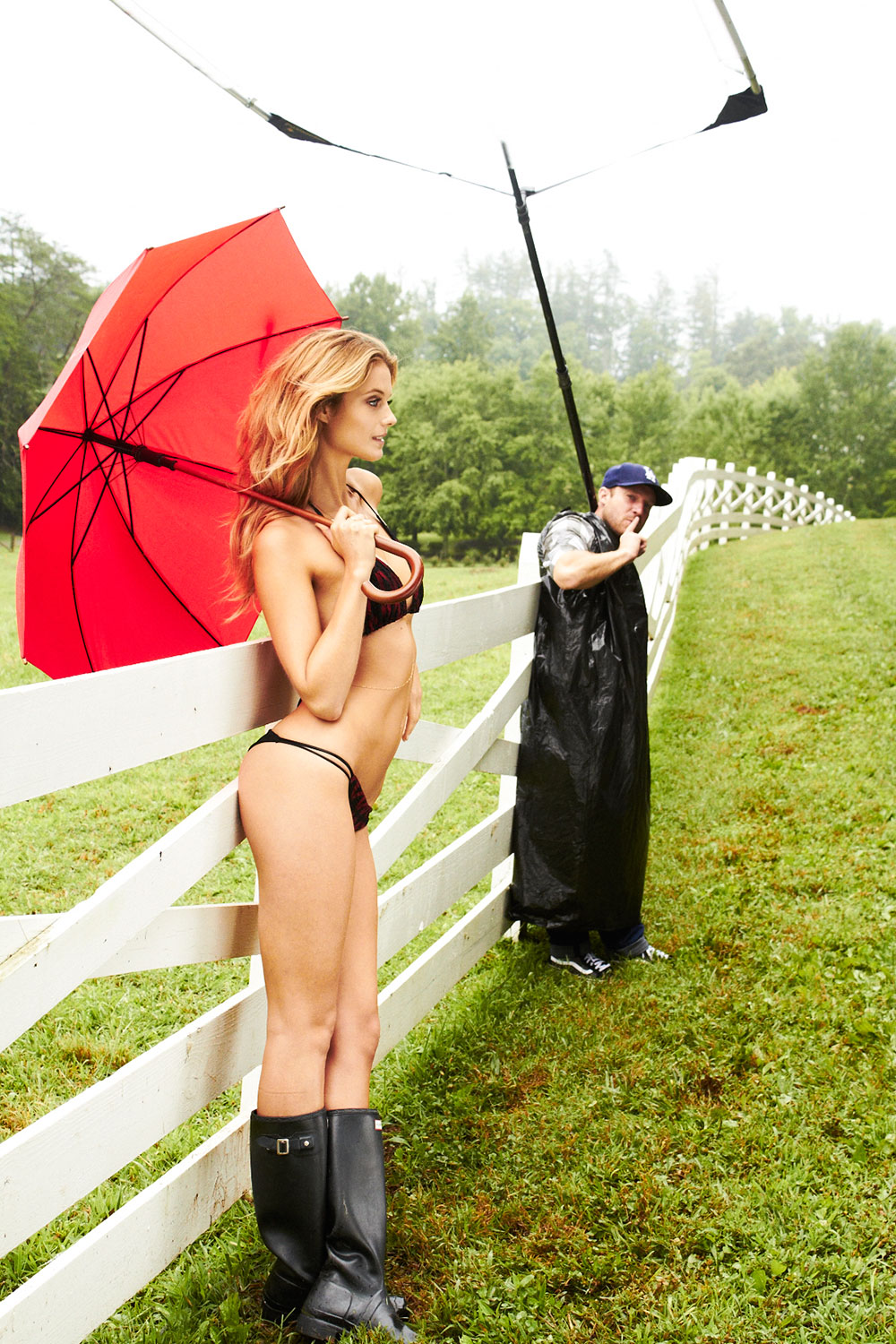 BTS with Kate Bock at Blackberry Farm, SI Swimsuit 2015