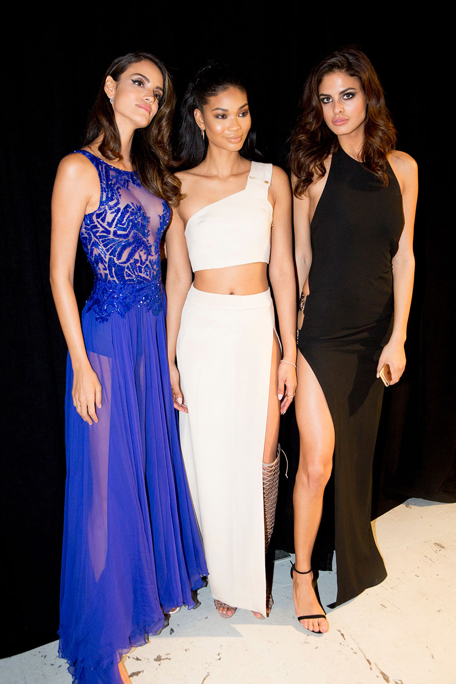 Sofia Resing, Chanel Iman and Bo :: Photo by Taylor Ballantyne