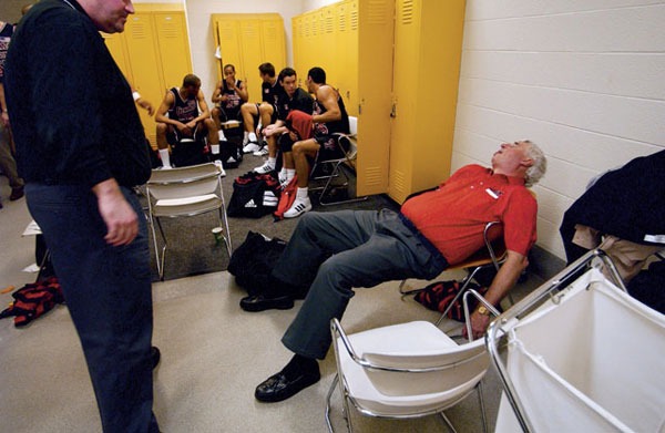 Bobby Knight :: Richard Clarkson/SI