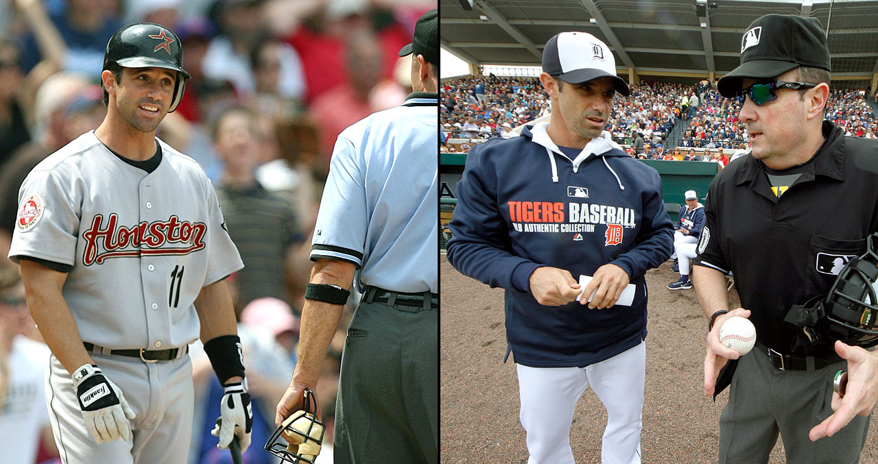 Brad Ausmus wasted little time joining the ranks of MLB managers after his playing days were over. As a player, Ausmus spent 18 years in the big leagues as a catcher, playing 10 years for the Houston Astros and a combined nine years with the Padres, Tigers and Dodgers. He was an All-Star in 1999 with the Tigers and later won three Gold Gloves. After retiring in 2010, Ausmus began coaching and landed in Detroit as the team's manager following the 2013 retirement of Jim Leyland.