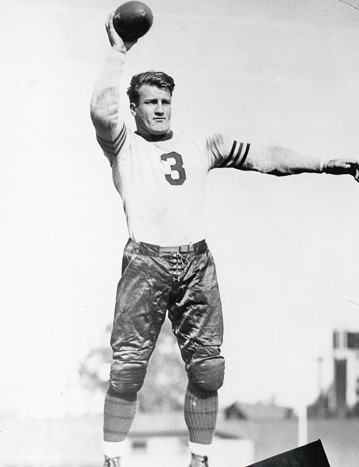 Chicago Bear Bronko Nagurski's game-winning touchdown pass in the 1932 NFL Championship game was disputed by the opposing Portsmouth Spartans, who insisted Nagurski did not make the pass at least five yards behind the line of scrimmage, as was the rule in 1932. The following season, the NFL changed the rules to allow forward passes anywhere behind the line of scrimmage.