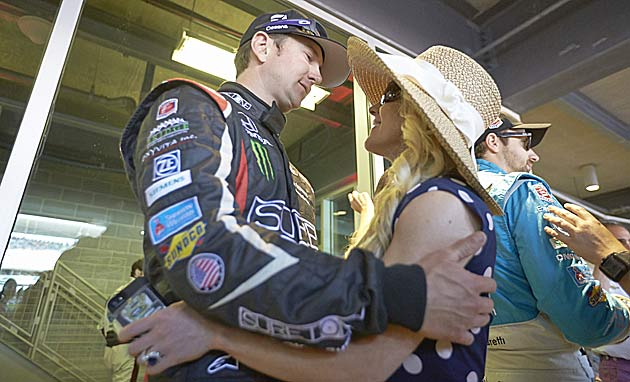 Kurt Busch and Patricia Driscoll during happier times.