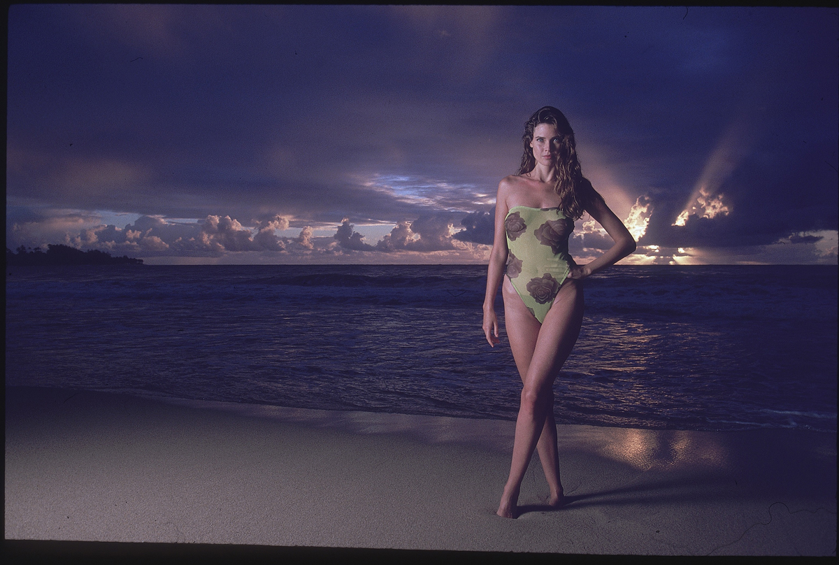 Carol Alt in Hawaii, SI Swimsuit 1989
