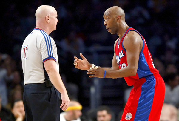 Sam Cassell and Joey Crawford :: Getty Images