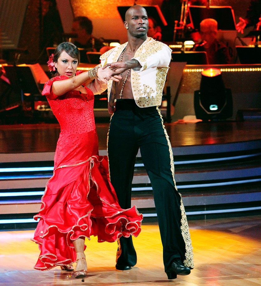 Cincinnati Bengals wide receiver Chad Johnson finished in 4th place with dancing partner Cheryl Burke in Season 10.
