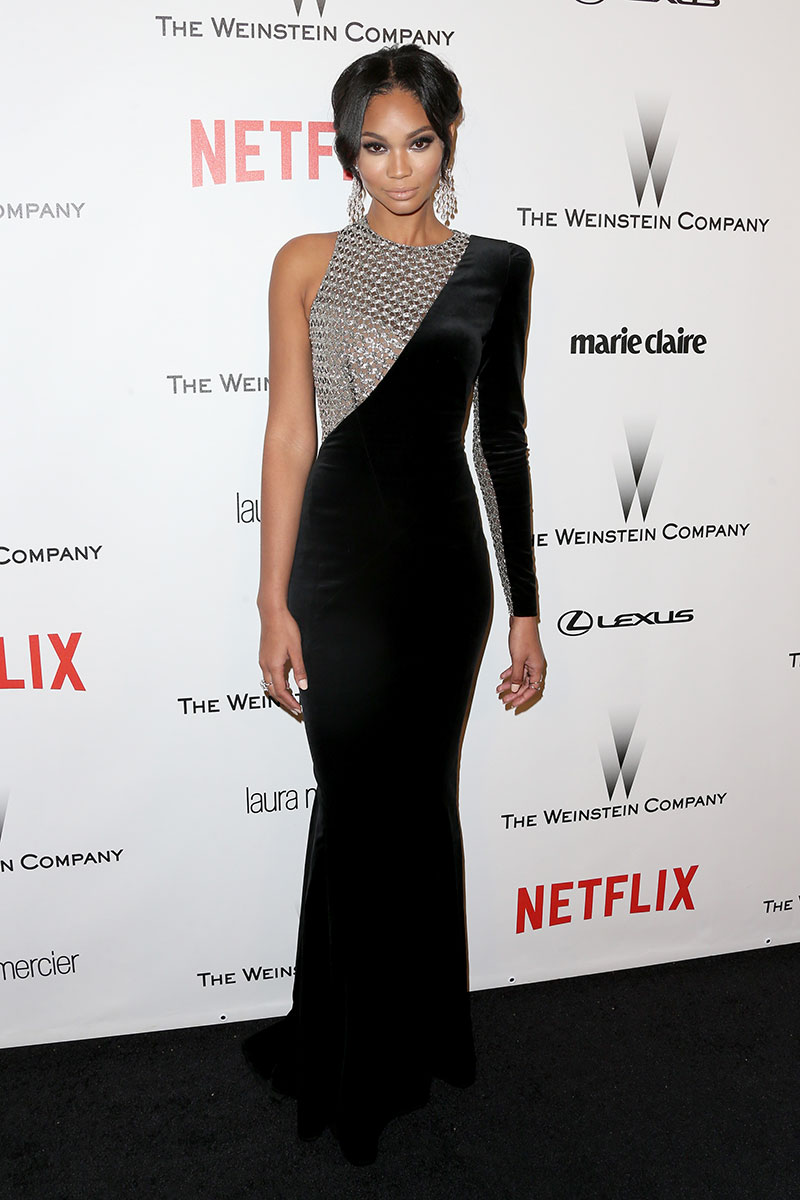 At the 2015 Weinstein Company and Netflix Golden Globes after party