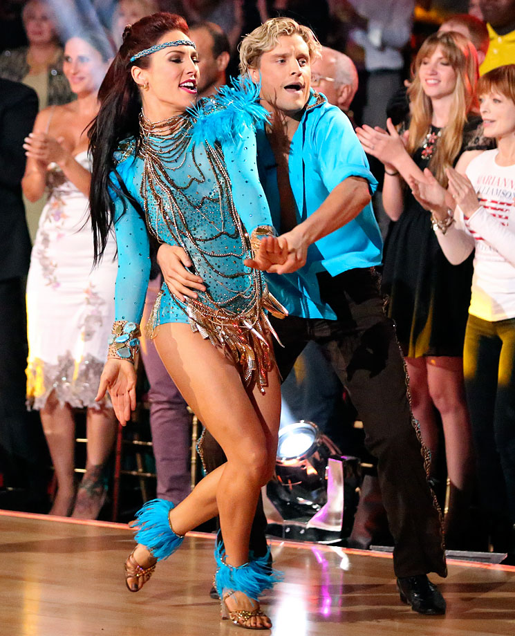 Olympic ice dancer Charlie White finished in 5th place with dancing partner Sharna Burgess in Season 18.