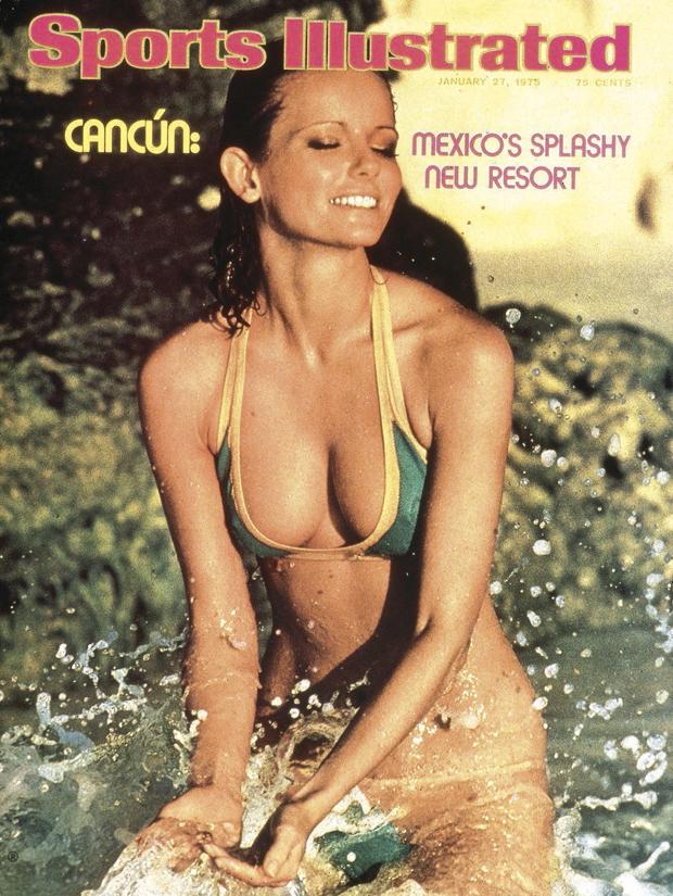 Cheryl Tiegs in Cancun