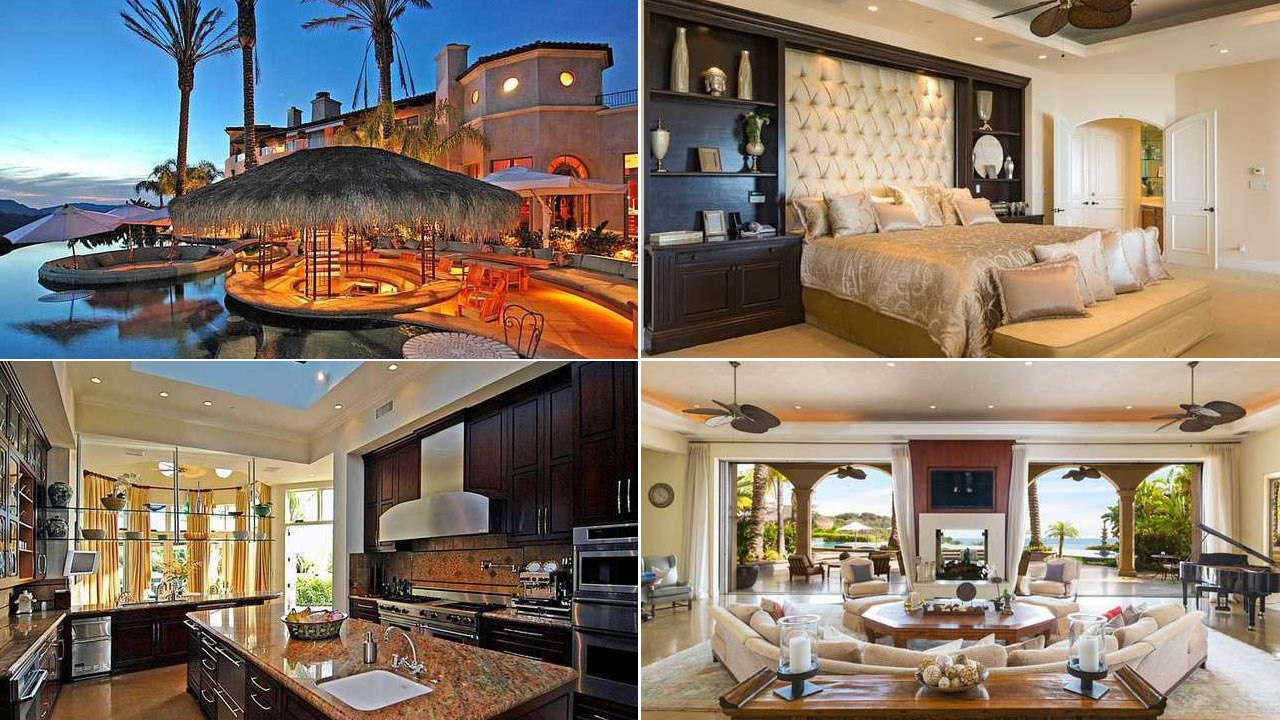 The Miami Heat star is reportedly selling his gigantic house in Pacific Palisades, Calif.  The mansion covers approximately 10,755 square feet. It consists of six bedrooms, eight bathrooms, an in-house movie theatre, a billiards room with a sports bar, an infinity pool and, of course, a basketball court.  Apparently, Bosh had been renting the place out for $45,000 a month.  Now it is up for complete sale at $14.5 million.