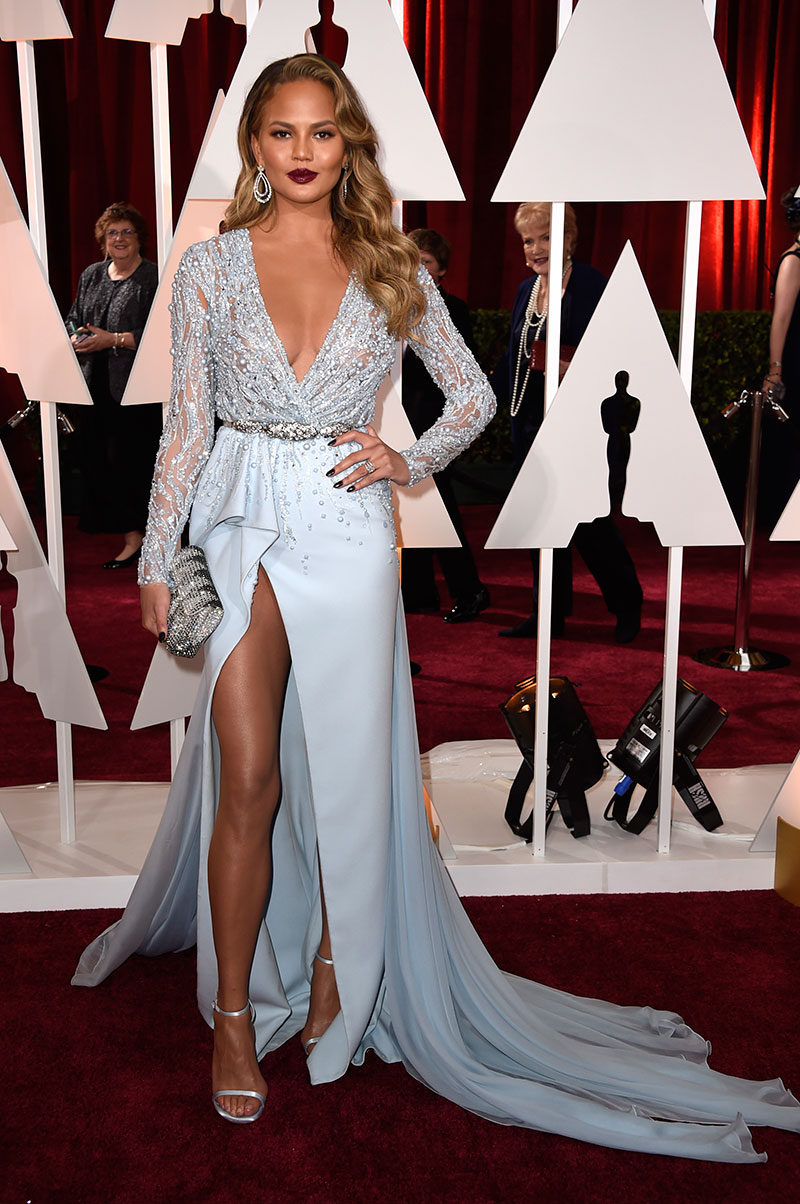 Chrissy Teigen attends the 87th Annual Academy Awards