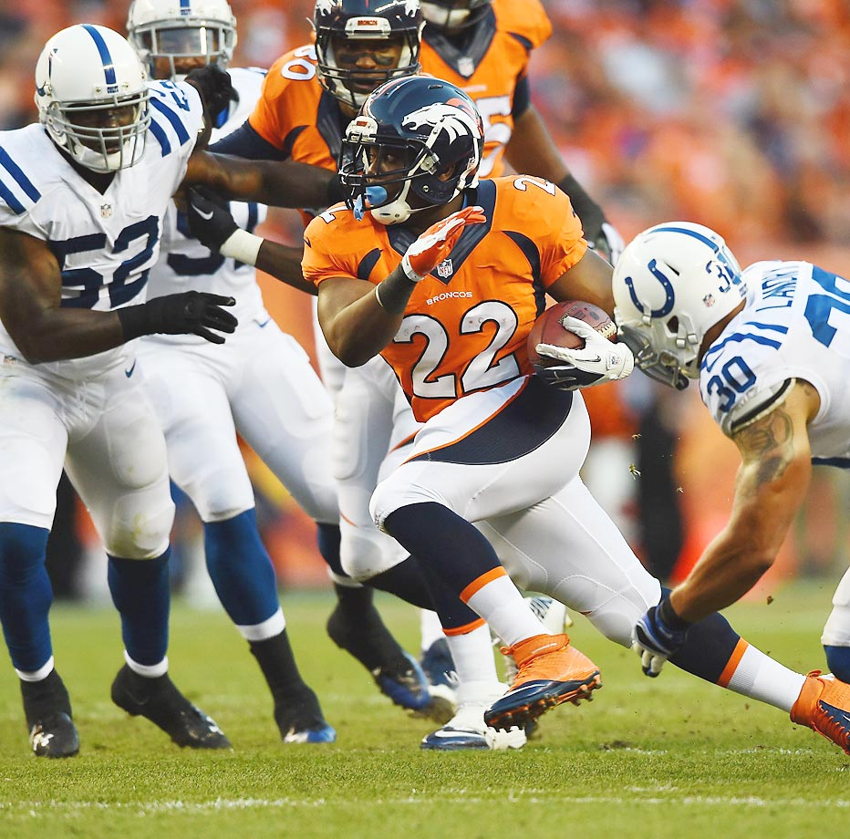 Cortrelle Javon Anderson was an undrafted free agent out of Cal in 2013. After a seven-carry rookie season, he has been a major beneficiary of injuries to Denver running backs in 2014, helping lead a powerful Broncos offense.