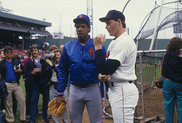 Dwight Gooden and Roger Clemens :: Getty Images