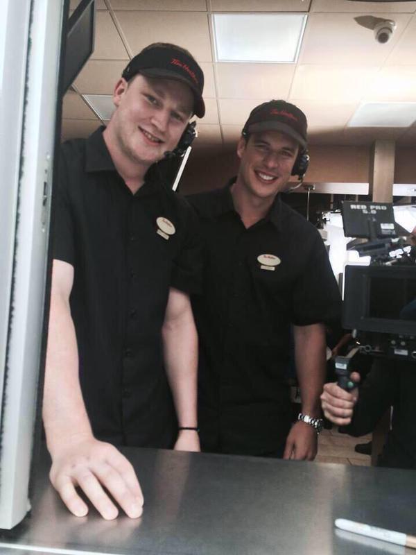 Sidney Crosby and Nathan MacKinnon