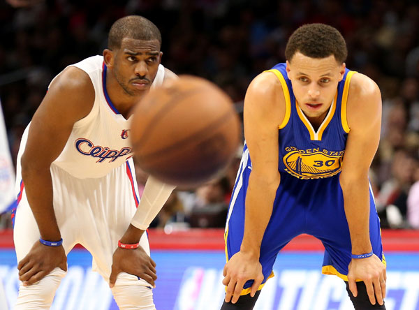 Chris Paul and Stephen Curry