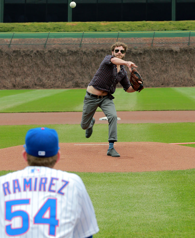April 24 at Wrigley Field in Chicago