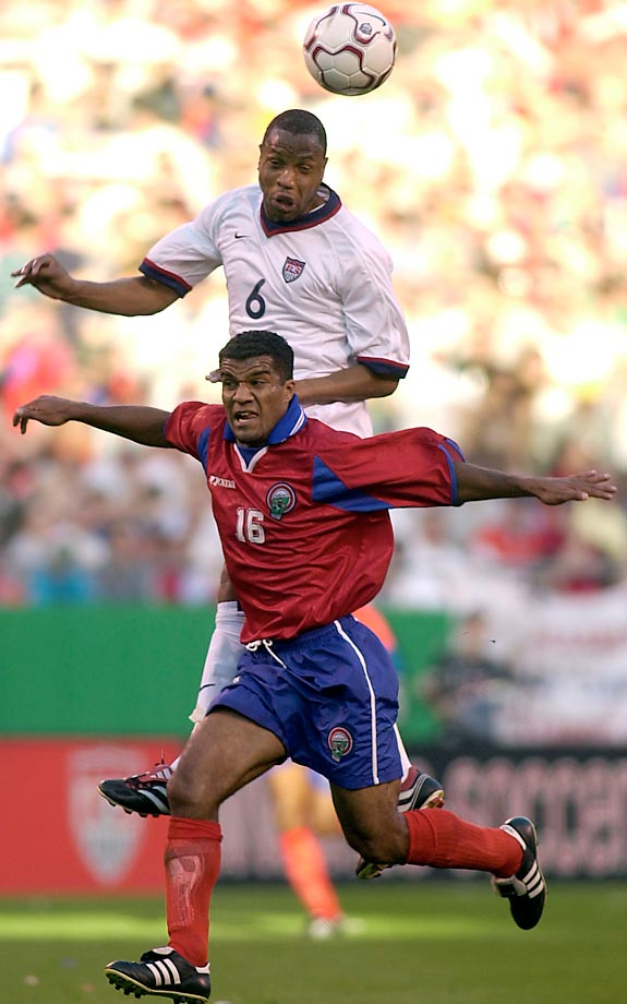 Known for his speed as a defender, Regis was a starter for the USMNT in the 1998 World Cup.  He was born in La Trinite, Martinique, and became a U.S. citizen just a few weeks before the 1998 World Cup began.