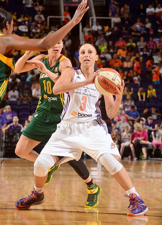 The five-time WNBA scoring champion was suspended for two games witihout pay by the Phoenix Mercury in 2009 on the heels of her arrest on three drunken driving related charges. The All-Star guard received a one-game suspension in July 2013 for an accumulation of technical fouls and another one-game penalty for the same offense later that season.