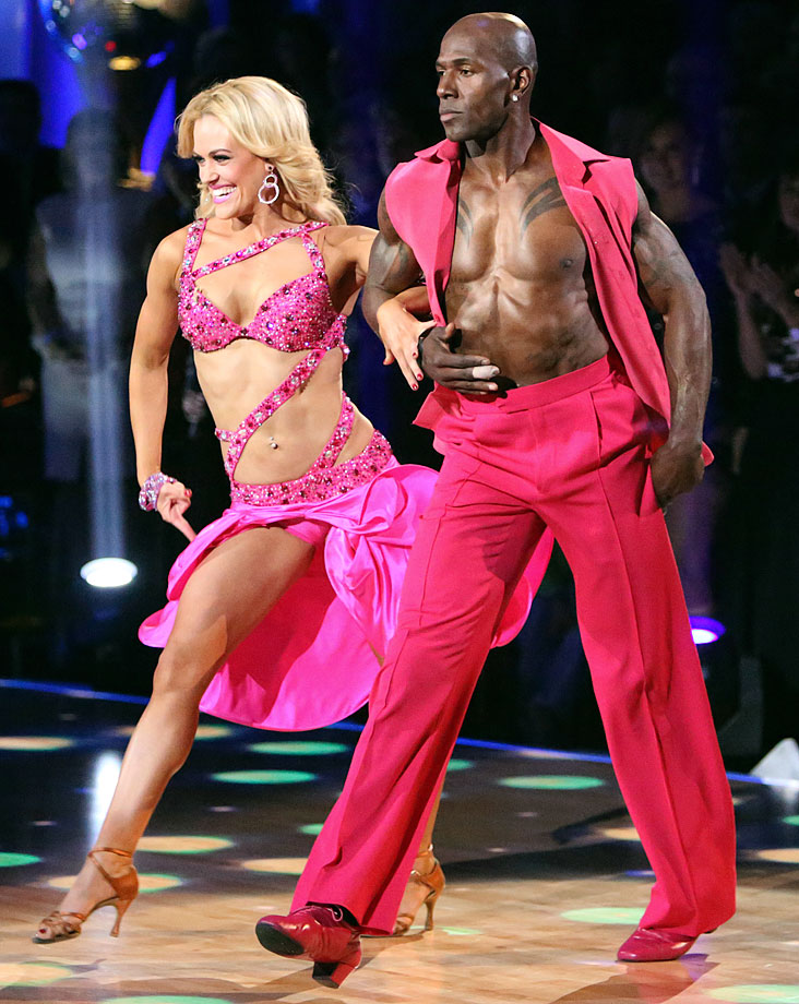 Green Bay Packers wide receiver Donald Driver won 1st place with dancing partner Peta Murgatroyd in Season 14.