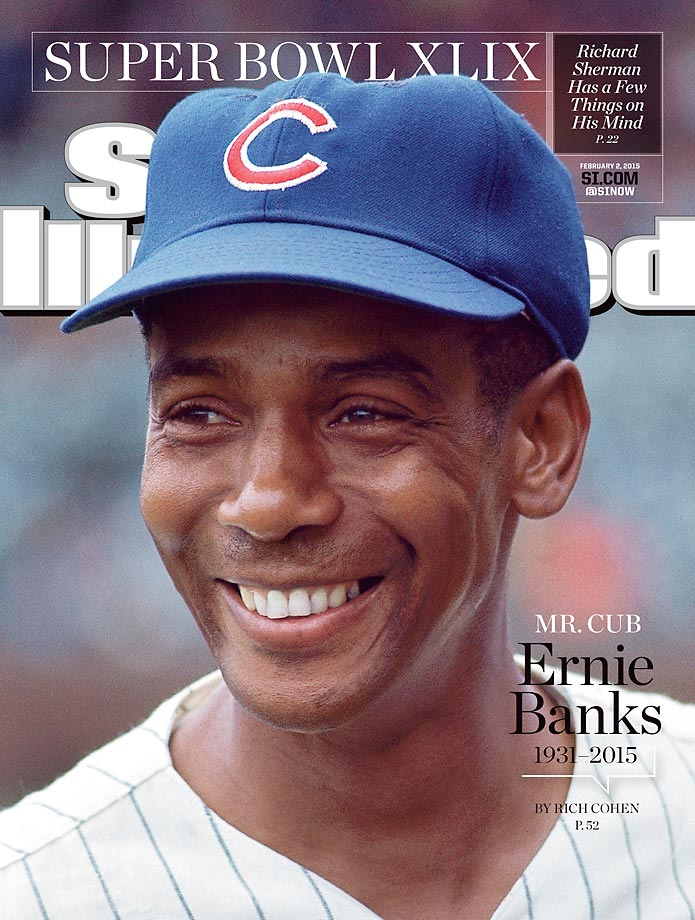 February 2, 2015 | Legendary shortstop Ernie Banks was the heart and soul of the Chicago Cubs despite never reaching the postseason in his 19 MLB seasons.