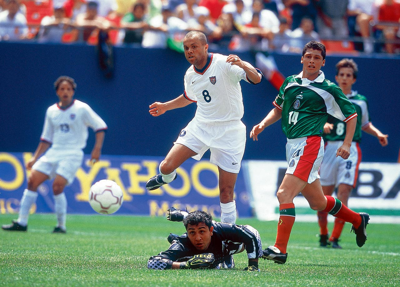 Earnie Stewart, born in Veghel, Netherlands, in 1969, was a member of the USMNT from 1990 to 2005.  He is perhaps most remembered for his goal against Columbia in the 1994 World Cup, which helped the United States advance to the second round.
