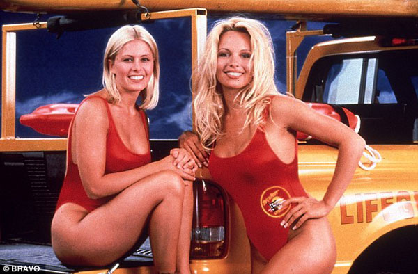 Nicole Eggert and Pam Anderson