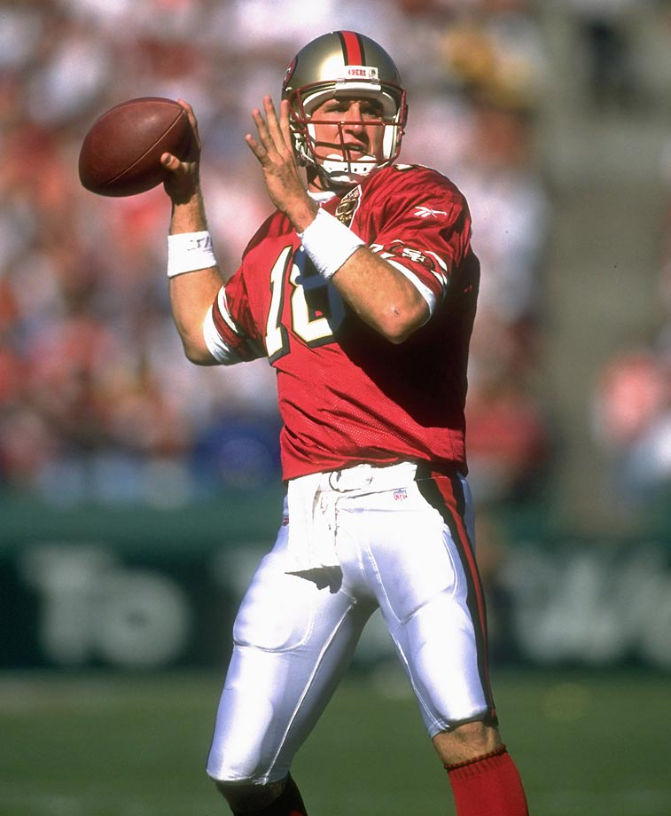 Elvis Grbac began his career in San Francisco as Steve Young's backup, before moving to Kansas City. He had the best year of his career in 2000, throwing for 4,169 yards and 28 touchdowns en route to the Pro Bowl. Grbac left K.C. after the season and signed with the Super Bowl champion Ravens, replacing fan favorite Trent Dilfer. Injured and ineffective, Grbac threw more interceptions (18) than touchdowns (15) for the Ravens and was released in a salary cap move after the 2001 season after he refused to renegotiate his contract. The 31-year-old retired rather than sign with another team.