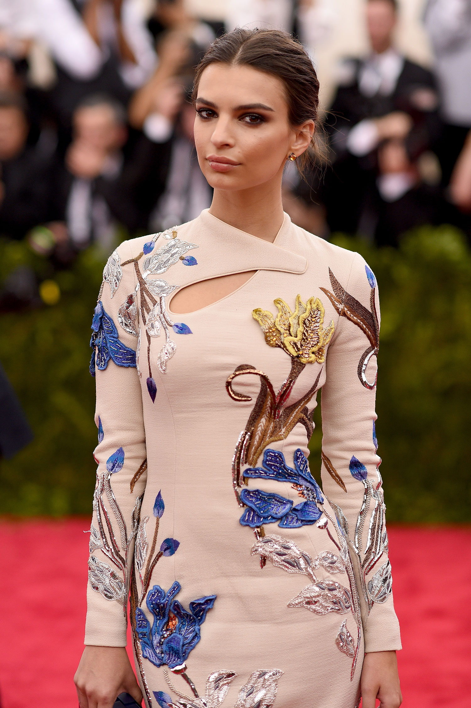 Emily Ratajkowski attends the 'China: Through The Looking Glass' Costume Institute Benefit Gala at the Metropolitan Museum of Art.