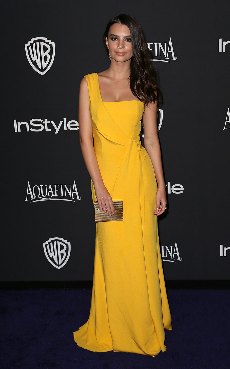 At the 2015 InStyle and Warner Bros. Golden Globes party