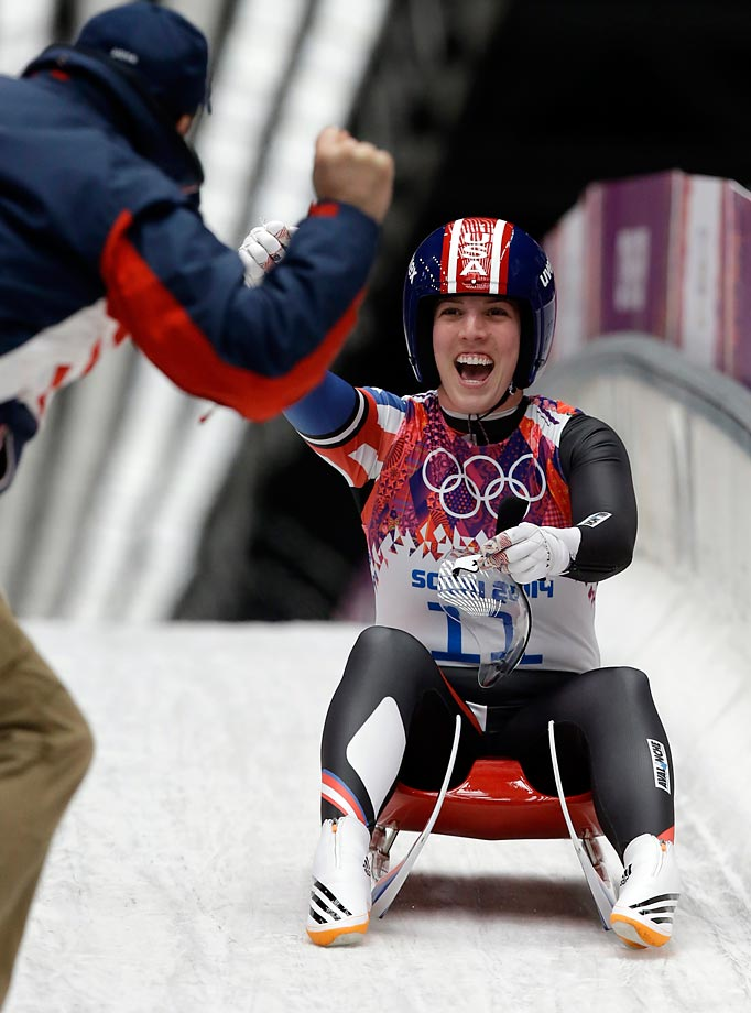 Bronze: Luge - Women's Single