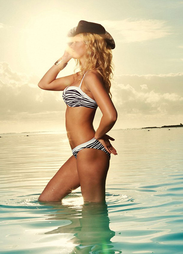 Erin Heatherton for LASCANA Swimwear