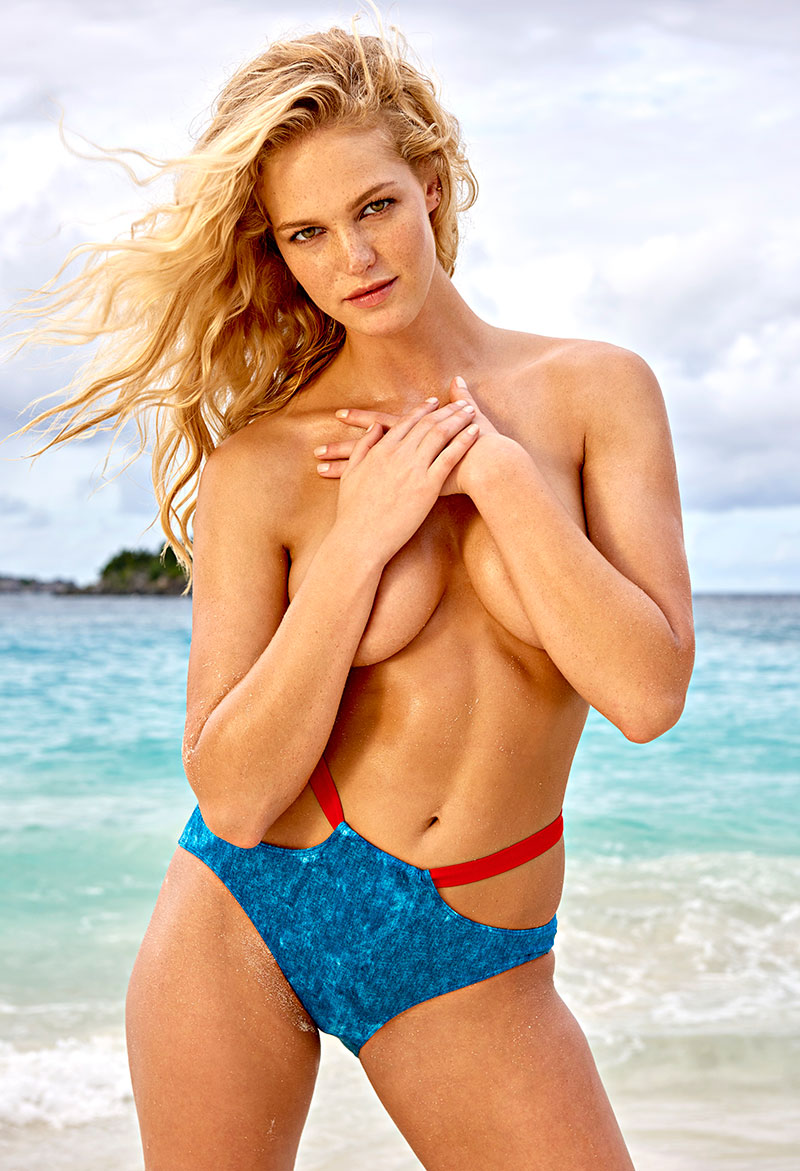 Erin Heatherton, SI Swimsuit 2015, St. John, US Virgin Islands