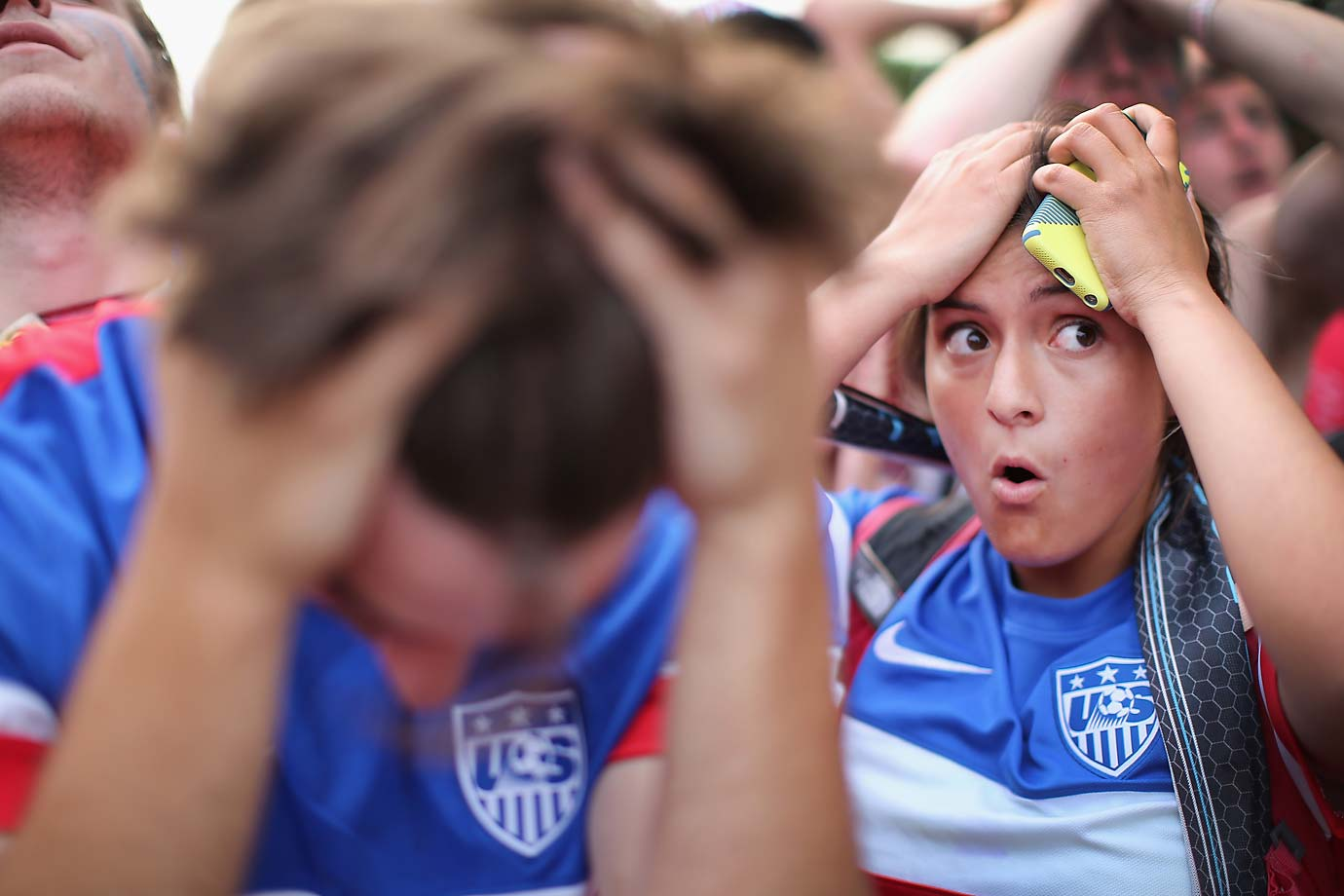 U.S. fans across the nation and abroad had a similar reaction to the late goal by Portugal that denied the U.S. a chance of sealing an early knockout berth.