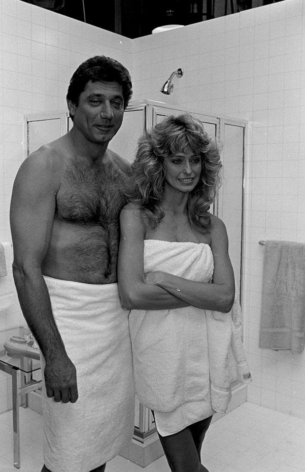 Farrah Fawcett and Joe Namath :: Getty Images