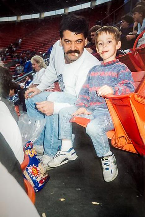 #KeepGoodGoing  @SInow  Dad and Me @RoyalsMedia Fathers Day 1994