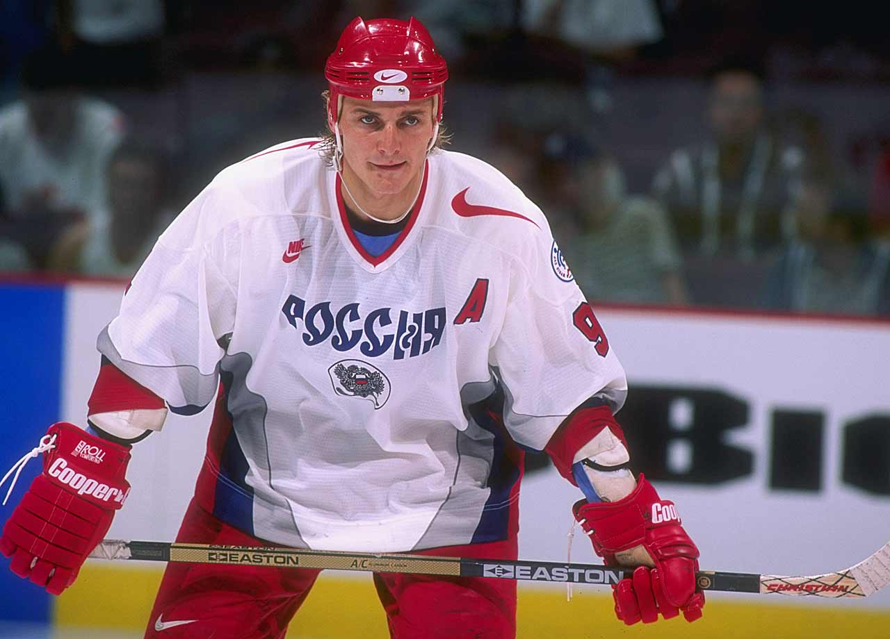 Fedorov was an early bloomer, cracking the Red Army lineup in 1987 as a 17-year old, and defecting to the U.S. during the 1990 Goodwill Games in Seattle. He became a superstar with the Detroit Red Wings, winning the Hart Trophy in '94 and becoming the first Russian player to record 1,000 career points (he finished his career with 1,179). Fedorov scored 483 career NHL goals, the most of any Russian, and his 27 overtime goals are the most in league history. Now 44, he is GM of the Red Army team in Moscow. -- Brian Cazeneuve