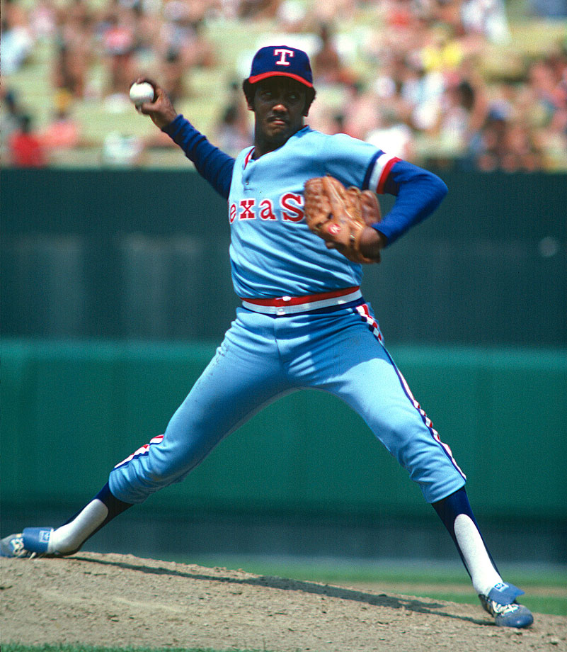 While a member of the Texas Rangers in 1980, starting pitcher Ferguson Jenkins was banned from MLB after Toronto customs agents found him in possession of multiple drugs (cocaine, hashish and marijuana). He was reinstated after the '80 season and eventually elected to the Hall of Fame in 1991 after finishing with 284 career wins.