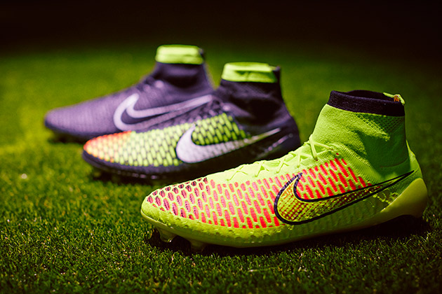 The Magista line is made using Flyknit, and to keep the water out without adding layers, Nike has a treatment on the surface thinner than a sheet of paper.