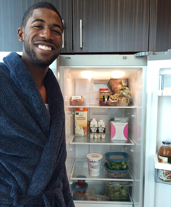 A self-described health nut, Houston Astros outfielder Dexter Fowler still has a soft spot for his favorite snack food, Fruit Roll-Ups.