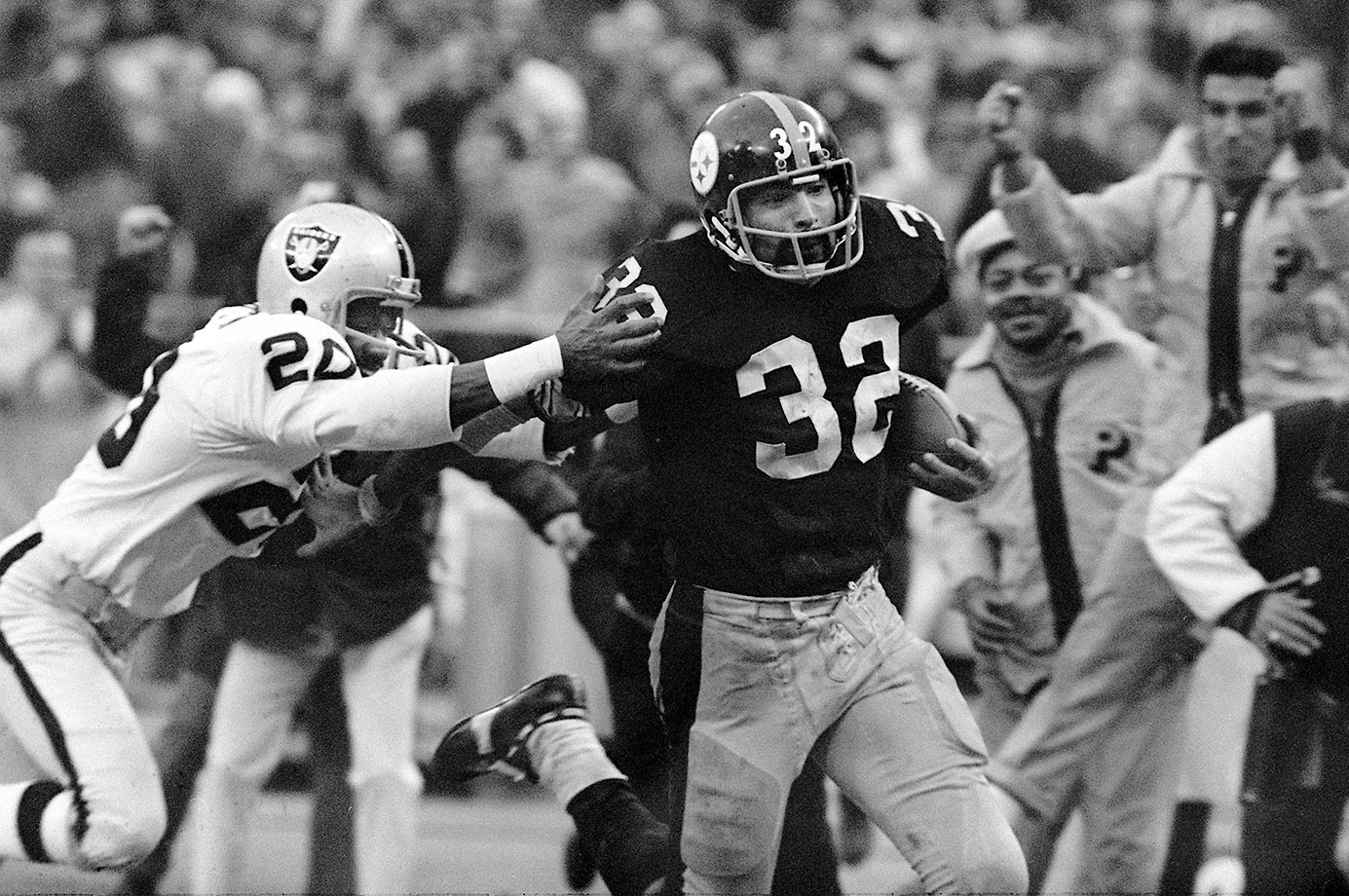"1972: Franco Harris's ""Immaculate Reception"" vs. Oakland"
