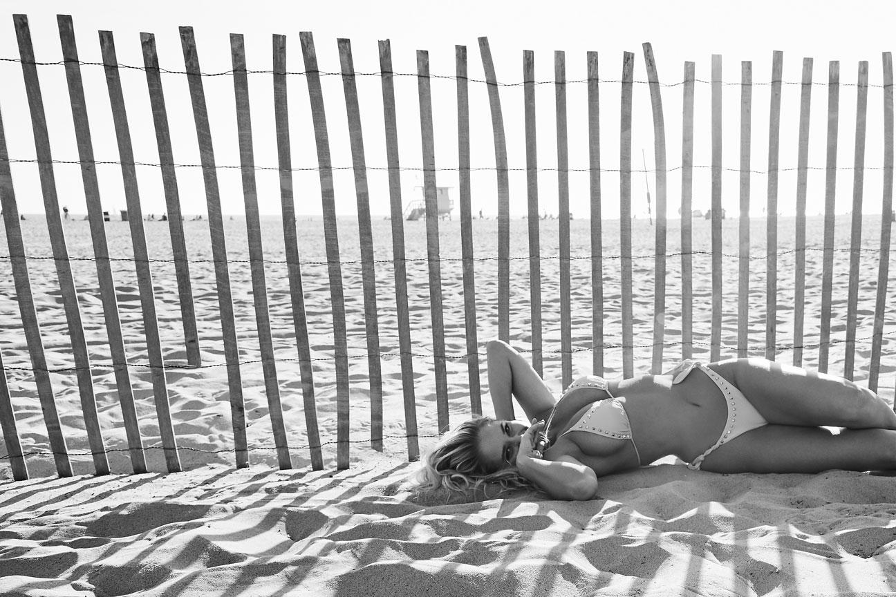 Genevieve Morton in Santa Monica