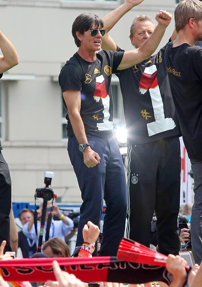 Head coach Joachim Loew.